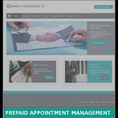 Prepaid Appointment Management