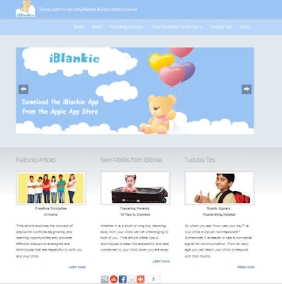 iBlankie - Social Designed Website