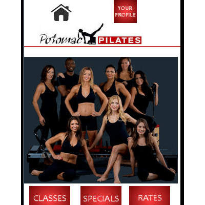 Potomac Pilates Mobile Companion Site