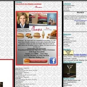 This Site Sucks -Restaurant Guide Atlanta Qr Code