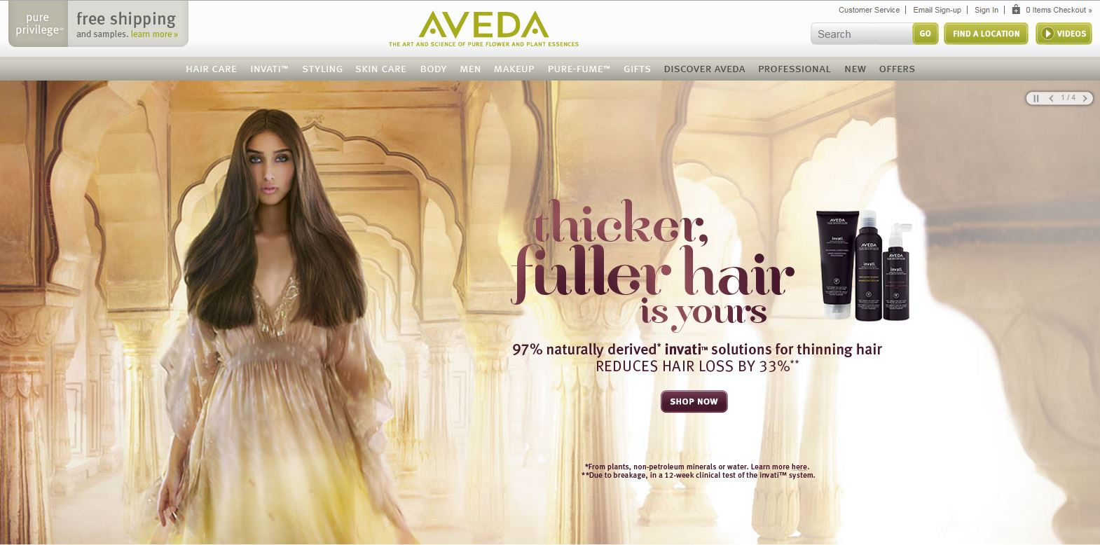Aveda - Building Brand Recognition