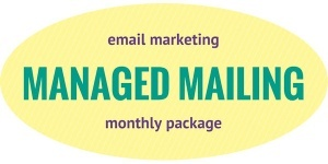 Managed Mailing - email monthly support package