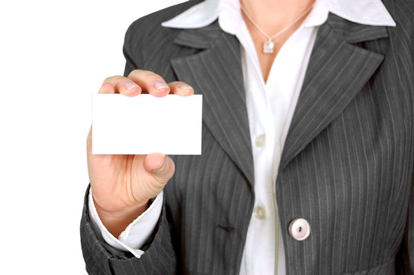 Your business card should tell someone what you do