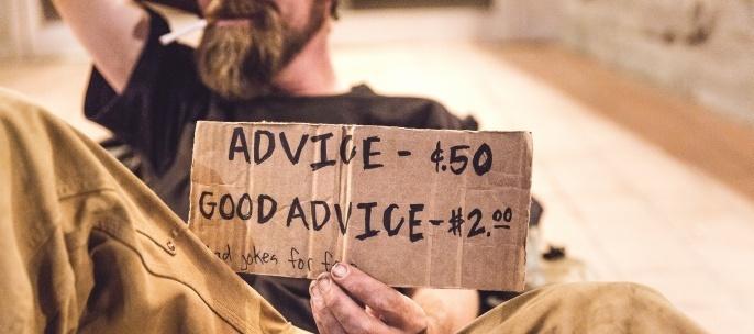 advice v. good advice