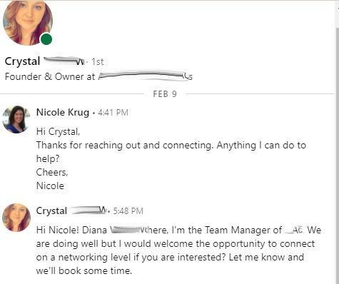 LinkedIn Exchange from Crystal
