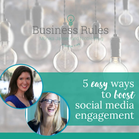 5 Easy Ways to Boost Social Media Engagement | Business Rules Marketing video